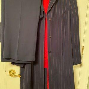 Amanda Smith size 16 navy/red 3 piece suit set